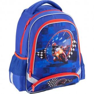 Рюкзак школьный Kite K18-517S Motocross. Днепр. фото 1
