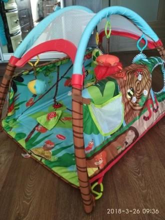 Продам детский развивающий коврик фирмы Tiny Love, в хорошем состоянии. Новый ст. Сєверодонецьк, Луганська область. фото 3