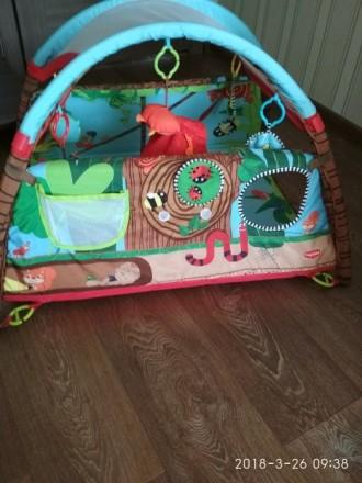 Продам детский развивающий коврик фирмы Tiny Love, в хорошем состоянии. Новый ст. Сєверодонецьк, Луганська область. фото 4