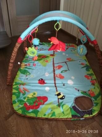 Продам детский развивающий коврик фирмы Tiny Love, в хорошем состоянии. Новый ст. Сєверодонецьк, Луганська область. фото 5