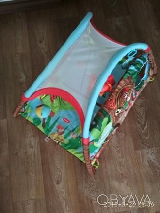 Продам детский развивающий коврик фирмы Tiny Love, в хорошем состоянии. Новый ст. Сєверодонецьк, Луганська область. фото 1