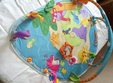 Развивающий коврик Тропический остров является самым большим из серии ковриков T. Черкаси, Черкаська область. фото 4