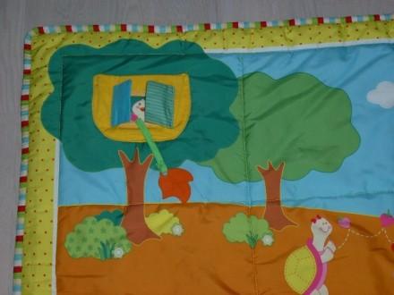 Развивающий коврик большого размера (1 х 1,5 м), для малышей от 0 до 12 мес. Зве. Киев, Киевская область. фото 5