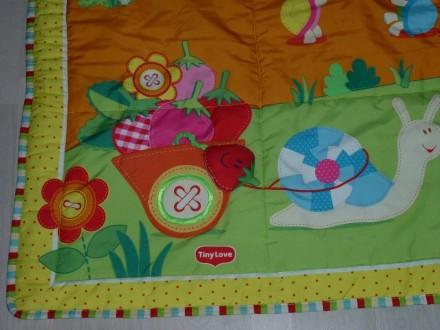 Развивающий коврик большого размера (1 х 1,5 м), для малышей от 0 до 12 мес. Зве. Киев, Киевская область. фото 4