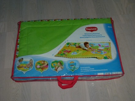 Развивающий коврик большого размера (1 х 1,5 м), для малышей от 0 до 12 мес. Зве. Киев, Киевская область. фото 3
