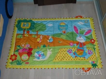 Развивающий коврик большого размера (1 х 1,5 м), для малышей от 0 до 12 мес. Зве. Киев, Киевская область. фото 1