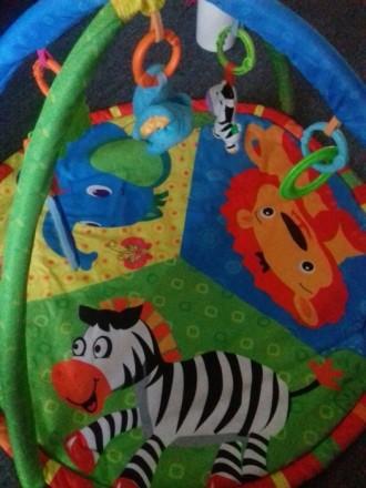 Продам игровой развивающий коврик в очень хорошем состоянии. Есть коробка.. Бердянськ, Запорізька область. фото 2