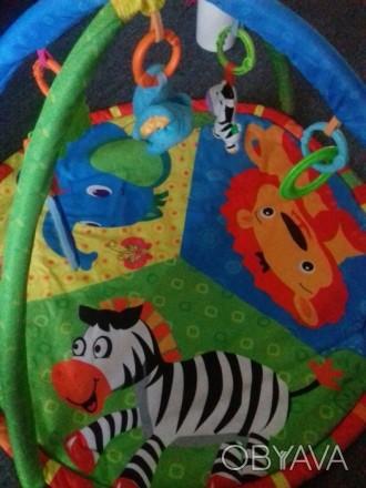 Продам игровой развивающий коврик в очень хорошем состоянии. Есть коробка.. Бердянськ, Запорізька область. фото 1