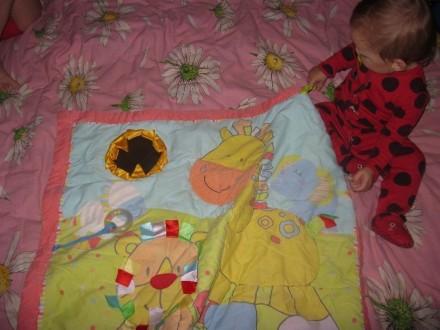 детский развивающий коврик Mothercare для веселого лежания на животике, Зеркальц. Маріуполь, Донецька область. фото 3