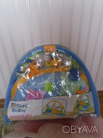 Коврик для развития младенцев, моторики,концентрирования зрения. Запорожье, Запорожская область. фото 1
