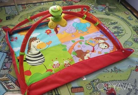 """Отличный коврик для малыша познающего мир вокруг. Инновационный коврик """"Разноцве. Киев, Киевская область. фото 1"""