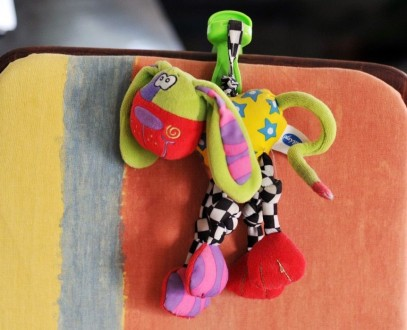 Продам игрушку-подвеску Play gro. При натяжении забавно вибрирует, стимулируя ре. Київ, Київська область. фото 2