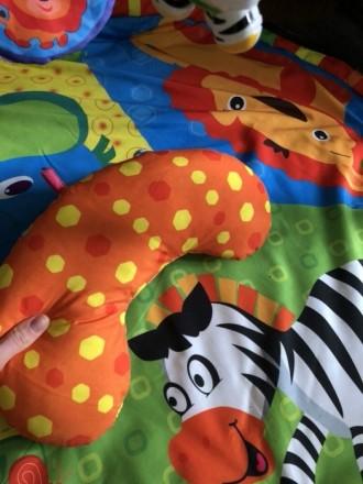 После одного ребёнка. Коврик в хорошем состоянии. Есть подушечка. Игрушки можно . Полтава, Полтавська область. фото 6