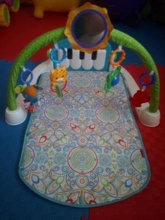 Развивающий коврик Fisher Price Пианино – модель с очень оригинальной игровой ду. Берегове, Закарпатська область. фото 3