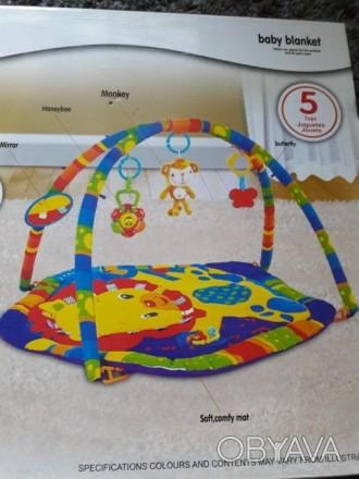 Развивающий коврик, в отличном состоянии, после одного ребёнка, вся комплектация. Кривий Ріг, Дніпропетровська область. фото 1