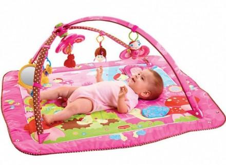 Коврик развивающий Tiny Love для малышей В комплекте идет:сам коврик с шелестяще. Киев, Киевская область. фото 2