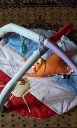 Продам новый развивающий коврик 0+. Малышу очень понравиться и даст родителям во. Лозова, Харківська область. фото 2