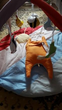 Продам новый развивающий коврик 0+. Малышу очень понравиться и даст родителям во. Лозова, Харківська область. фото 3