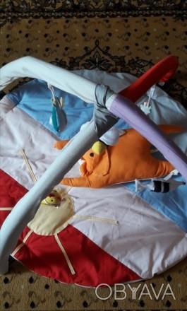 Продам новый развивающий коврик 0+. Малышу очень понравиться и даст родителям во. Лозова, Харківська область. фото 1