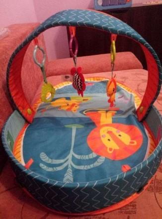 Продам наш развивающий коврик Tiny Love 3 в 1 после одного ребенка. Просто незам. Харьков, Харьковская область. фото 3