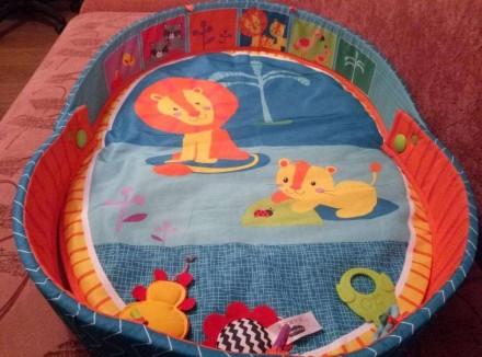 Продам наш развивающий коврик Tiny Love 3 в 1 после одного ребенка. Просто незам. Харьков, Харьковская область. фото 4