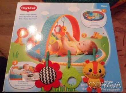 Продам наш развивающий коврик Tiny Love 3 в 1 после одного ребенка. Просто незам. Харьков, Харьковская область. фото 1