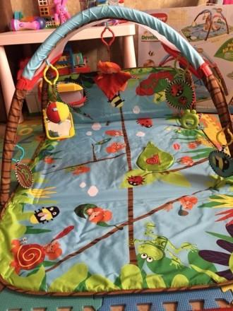Продам коврик Tiny Love в идеальном состоянии, после одного ребёнка. Чистый, ярк. Киев, Киевская область. фото 5