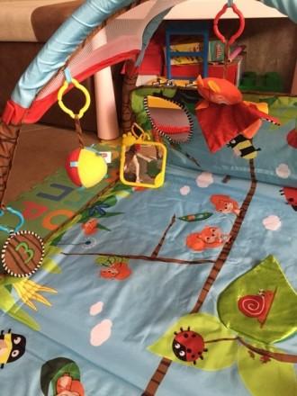 Продам коврик Tiny Love в идеальном состоянии, после одного ребёнка. Чистый, ярк. Киев, Киевская область. фото 4