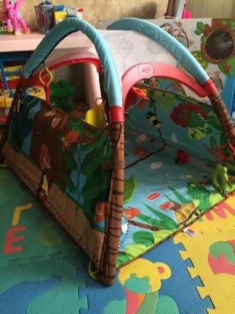 Продам коврик Tiny Love в идеальном состоянии, после одного ребёнка. Чистый, ярк. Киев, Киевская область. фото 3