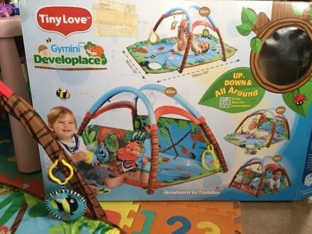 Продам коврик Tiny Love в идеальном состоянии, после одного ребёнка. Чистый, ярк. Киев, Киевская область. фото 2