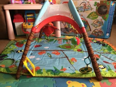 Продам коврик Tiny Love в идеальном состоянии, после одного ребёнка. Чистый, ярк. Киев, Киевская область. фото 6