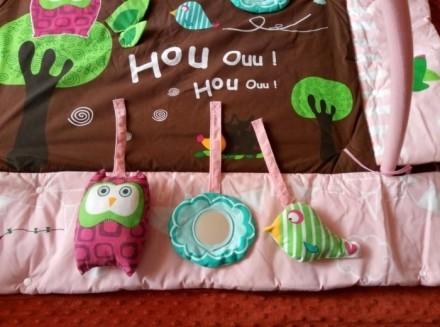 Продам развивающий коврик для ребенка. Коврик новый, им не пользовались, немного. Київ, Київська область. фото 3