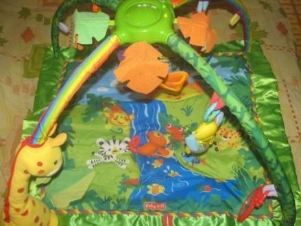 Детский развивающий, игровой коврик baby gift. музыкальный со световыми эффектам. Вараш (Кузнецовськ), Рівненська область. фото 5