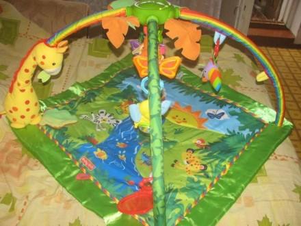 Детский развивающий, игровой коврик baby gift. музыкальный со световыми эффектам. Вараш (Кузнецовськ), Рівненська область. фото 4