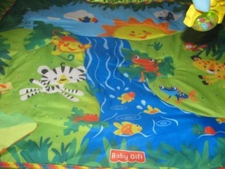 Детский развивающий, игровой коврик baby gift. музыкальный со световыми эффектам. Вараш (Кузнецовськ), Рівненська область. фото 2