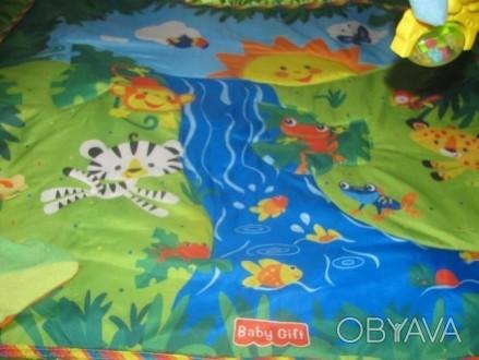 Детский развивающий, игровой коврик baby gift. музыкальный со световыми эффектам. Вараш (Кузнецовськ), Рівненська область. фото 1
