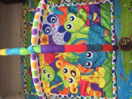 Развивающий коврик Playgro , в отличном состоянии. Есть коробка.. Киев, Киевская область. фото 3