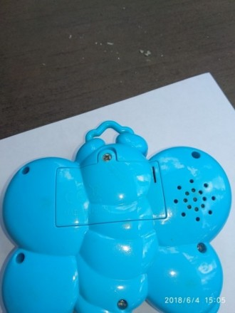 Музыкальная подвеска для вашего малыша. Крылышки светятся крысным( при нажатии).. Кривий Ріг, Дніпропетровська область. фото 4