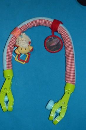 Дугу можно расправить и использовать как перетяжку с игрушками в кроватке. К дуг. Бахмут (Артемівськ), Донецька область. фото 3