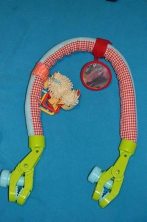 Дугу можно расправить и использовать как перетяжку с игрушками в кроватке. К дуг. Бахмут (Артемівськ), Донецька область. фото 4