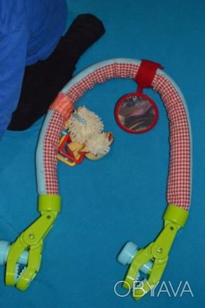 Дугу можно расправить и использовать как перетяжку с игрушками в кроватке. К дуг. Бахмут (Артемівськ), Донецька область. фото 1