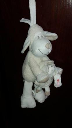 """Музыкальная игрушка-подвеска """"Овечка и малыш"""". Б/у в хорошем рабочем состоянии. . Херсон, Херсонская область. фото 4"""