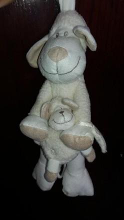 """Музыкальная игрушка-подвеска """"Овечка и малыш"""". Б/у в хорошем рабочем состоянии. . Херсон, Херсонская область. фото 5"""