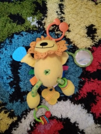 Мягкая игрушка - подвеска в коляску, кроватку. В хорошем состоянии. Грызунок, ко. Білгород-Дністровський, Одеська область. фото 6