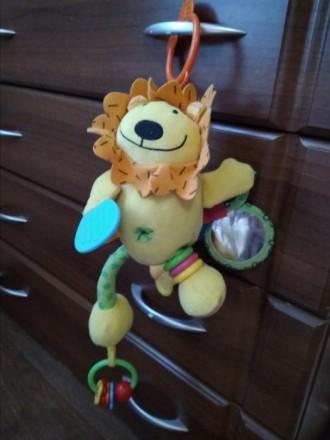Мягкая игрушка - подвеска в коляску, кроватку. В хорошем состоянии. Грызунок, ко. Білгород-Дністровський, Одеська область. фото 2