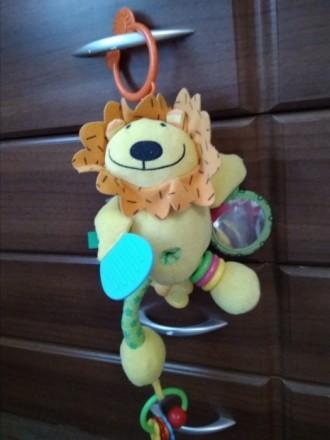 Мягкая игрушка - подвеска в коляску, кроватку. В хорошем состоянии. Грызунок, ко. Білгород-Дністровський, Одеська область. фото 3