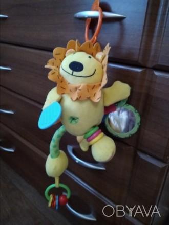 Мягкая игрушка - подвеска в коляску, кроватку. В хорошем состоянии. Грызунок, ко. Білгород-Дністровський, Одеська область. фото 1
