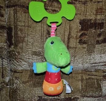 Кроко малыш сделан из мягкой ткани. В теле игрушки находится забавная пищалка, к. Біла Церква, Київська область. фото 2