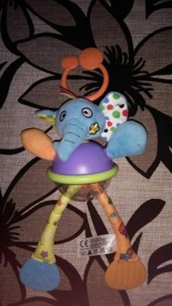 Классная активная игрушка с перетягиваютщимися лапками, в прозрачном животике ша. Каменское, Днепропетровская область. фото 2