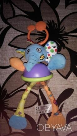 Классная активная игрушка с перетягиваютщимися лапками, в прозрачном животике ша. Каменское, Днепропетровская область. фото 1